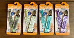 4 Pack BooginHead Baby Newborn PaciGrip Pacifier Clip Holder