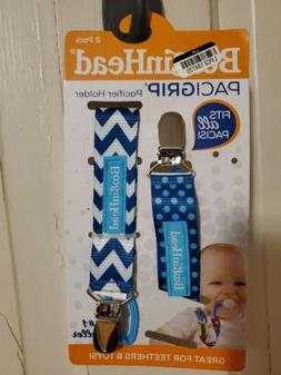 BooginHead Baby Newborn PaciGrip Pacifier Clip Holder Toy Te