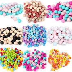 FDA Proof  Silicone Teething Beads DIY Baby Chew Teether Nec