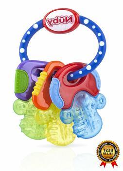 Gently Nuby Ice Gel Teether Keys Soothe Infants Gums Interac