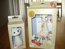 NEW Vulli Sophie the Giraffe and Pink Pie Teethers Toys Natu