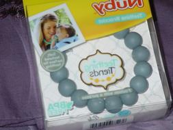 NUBY - Teething Bracelet - NEW - GREY Color - Mommy Jewelry