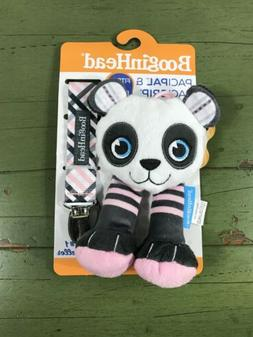 BooginHead PaciPal PaciGrip Pacifier Clip Panda Holder Toy T