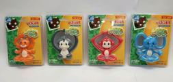 Set of Nuby Soothing Baby Yogi Teether Toys BPA Free 3+ Mont