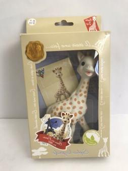 Vulli-  Sophie La Girafe Stuffed Baby Toy 5/25/61 NEW  Ages